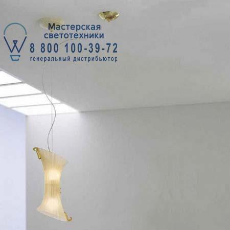 Vistosi LAGUNA SP D1 E14 подвесной светильник LAGUNA SP D1 E14 золотой