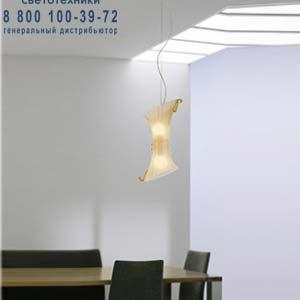 LAGUNA SP E14 золотой, подвесной светильник Vistosi LAGUNA SP E14