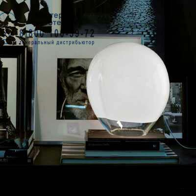 Vistosi NESSA LT E27 настольная лампа NESSA LT E27 белый прозрачный