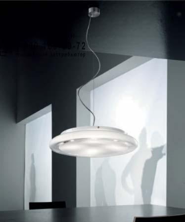 POD SP G FL белый, подвесной светильник Vistosi POD SP G FL