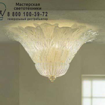 REDENTORE PL 16F P E27 зернистый золотой, потолочный светильник Vistosi REDENTORE PL 16F P E27