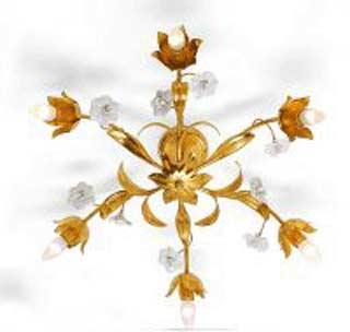 Eurolampart 1083/06PL oro foglia