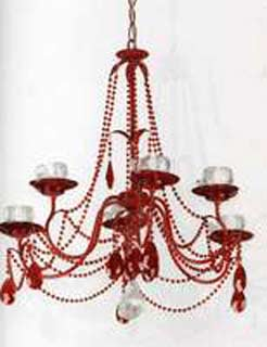 Eurolampart 2320/06LA rosso lucido