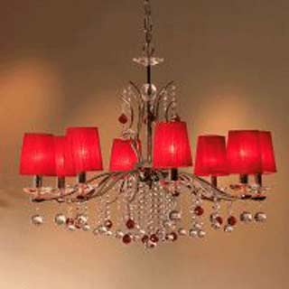 Copenlamp 390/8 chrome red/red