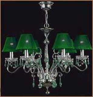 Salvilamp 3920/6 green-chrome