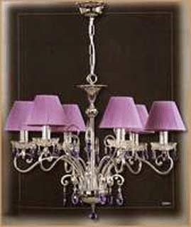 Salvilamp 3920/6 violet-chrome