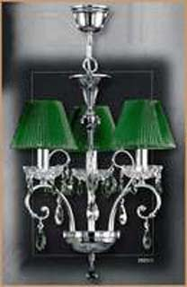 Salvilamp 3921/3 green-chrome