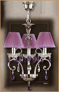 Salvilamp 3921/3 violet-chrome