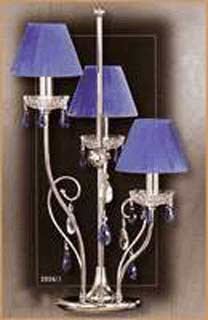 Salvilamp 3926/3 blue-chrome