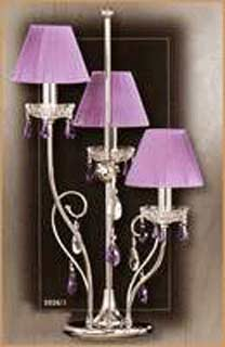 Salvilamp 3926/3 violet-chrome
