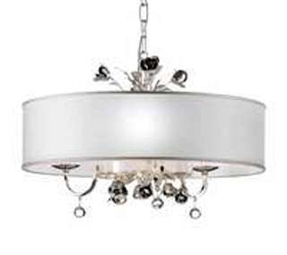 MM Lampadari 6988/3 V2544 white shade