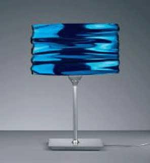 Artemide Aqua Cil tavolo Blue