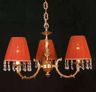 La lampada L 1038/3.27 (бордовая) Paderno luce