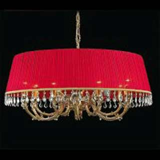 La lampada L 1038/6+6.27 (бордовая) Paderno luce