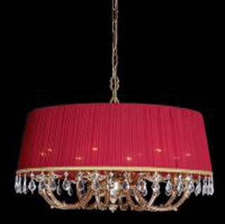 La lampada L 1038/8.27 (бордовая) Paderno luce