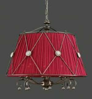 La lampada L 117/8.66 (бордовый) Paderno luce