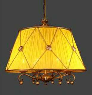 La lampada L 117/8.66 (коричн.абаж) Paderno luce