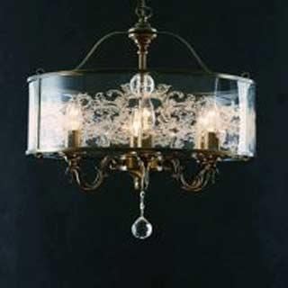 La lampada L 1302/6.40 Paderno luce