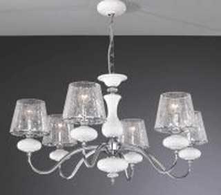 La lampada L 20211/6.02 cracce glass Paderno luce