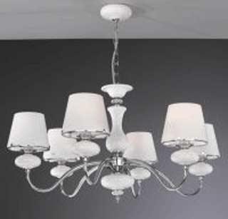 La lampada L 20211/6.02 white glass Paderno luce
