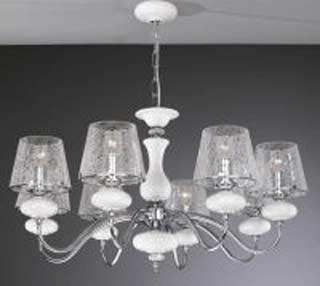 La lampada L 20211/8.02 cracce glass Paderno luce