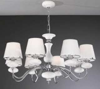 La lampada L 20211/8.02 white glass Paderno luce