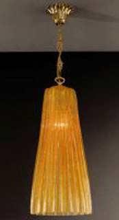 La lampada L.280/1GG.26 AMBER Paderno luce