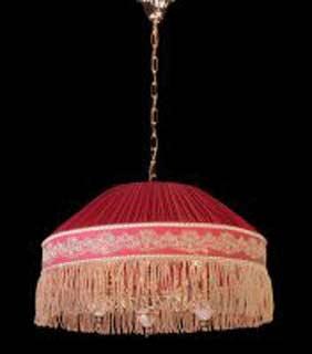 La lampada L 3038/3+3.26 (красная) Paderno luce