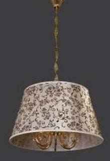 La lampada L 517/6.26 (абаж.с узором) Paderno luce