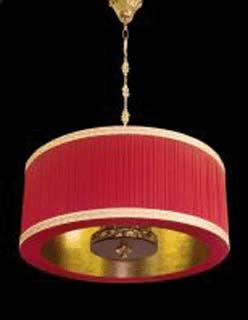 La lampada L 518/4.26 NOCE (бордовая) Paderno luce