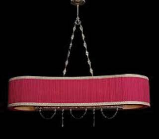 La lampada L.518/6.26 NOCE (бордовая) Paderno luce