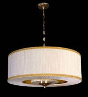 La lampada L 518/8.26 AVORIO Paderno luce