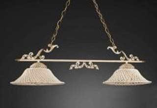La lampada L.664/2.17 SPAGHETTI AVORIO Paderno luce
