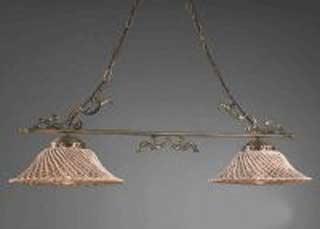 La lampada L.664/2.40 SPAGHETTI MARRONE Paderno luce