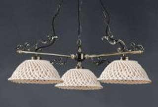 La lampada L.664/3.40 SPAGHETTI MARRONE Paderno luce