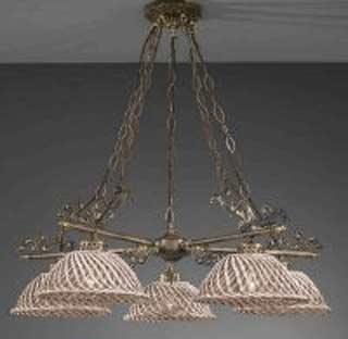 La lampada L.664/5.40 SPAGHETTI MARRONE Paderno luce