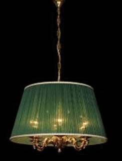 La lampada L 891/6.27 (зеленая) Paderno luce