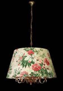 La lampada L 891/6.27 (с цветами) Paderno luce