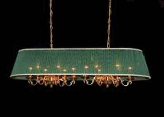 La lampada L 891/6+6.27 (зеленая) Paderno luce