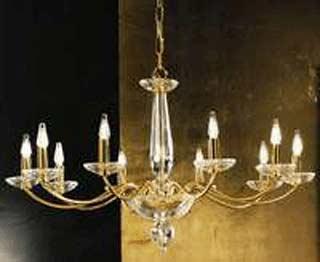 Miniluce Orvieto bis/8 gold Asfour