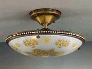 La lampada PL 416/3.40 FLOWERS Paderno luce