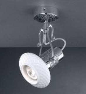 La lampada PL.462/1.02 WHITE CERAMIC Paderno luce