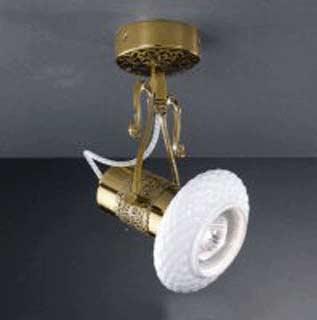 La lampada PL.462/1.26 WHITE CERAMIC Paderno luce