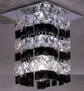 La lampada SPOT 0031/13.02 WB BLACK Paderno luce