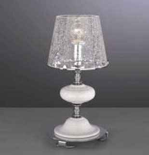 La lampada T 20211/1.02 cracce glass Paderno luce