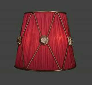 La lampada WB 117/2.66 (бордовый) Paderno luce