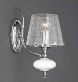 La lampada WB 20211/1.02 cracce glass Paderno luce