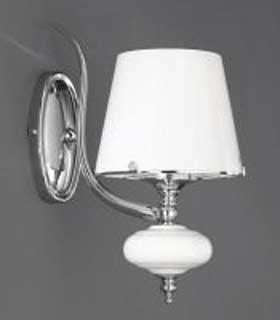 La lampada WB 20211/1.02 white glass Paderno luce