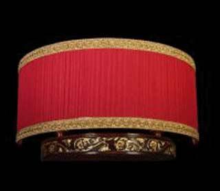 La lampada WB 518/2.26 NOCE (бордовая) Paderno luce