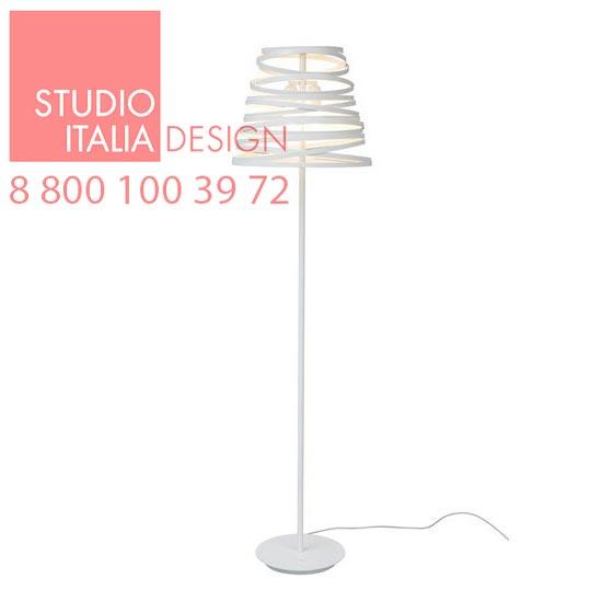Curl My Light LT1 matt white 9010 торшер Studio Italia Design